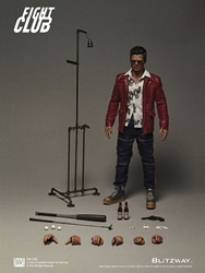 Picture of Fight Club Tyler Durden Red Jacket Blitzway 1/6 Scale Action Figure