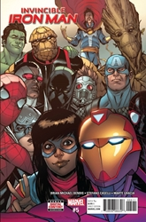 Picture of Invincible Iron Man (2017) #5
