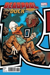 Picture of Deadpool the Duck #3 Connecting Variant Cover