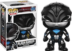 Picture of Pop Movies Power Rangers Black Ranger Vinyl Figure