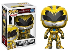 Picture of Pop Movies Power Rangers Yellow Ranger Vinyl Figure