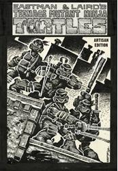 Picture of Teenage Mutant Ninja Turtles Artisan Edition HC