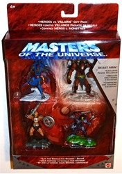 Picture of Masters of the Universe Heroes vs. Villains Gift Pack