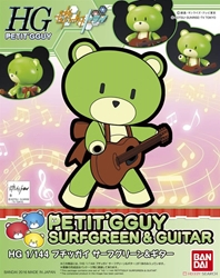 Picture of Gundam Build Fighters Try Petitgguy Surfgreen and Guitar HG Model Kit