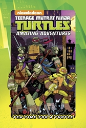 Picture of Teenage Mutant Ninja Turtles Tea Time For a Turtle HC