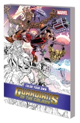 Picture of Color Your Own Guardians of Galaxy TP