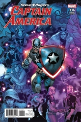 Picture of Captain America Steve Rogers #16 Rb Silva Connecting a Variant