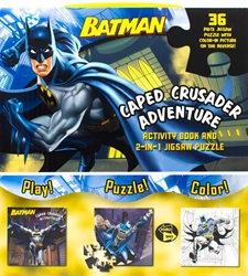 Picture of Batman Caped Crusader Adventure Activity Book