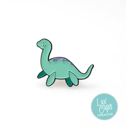 Picture of LuxCups Lady Loch Ness Cloisonne Pin