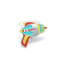 Picture of LuxCups Ray Gun Bright Cloisonne Pin