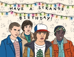 Picture of Stranger Things Birthday Card