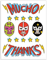 Picture of Mucho Thanks Card