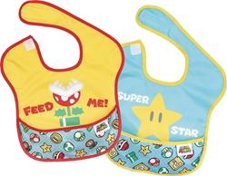 Picture of Nintendo Super Mario Bros SuperBib 2-Pack