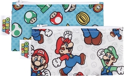 Picture of Nintendo Super Mario Bros Small Snack Bag 2-Pack