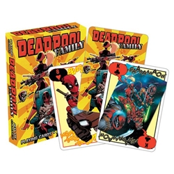 Picture of Deadpool Family Playing Cards