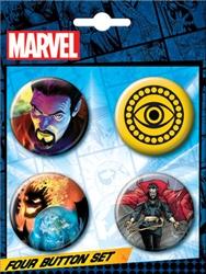 Picture of Marvel Dr.Strange Button Set
