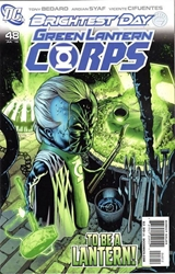 Picture of Green Lantern Corps (2006) #48 Gleason Cover