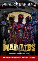 Picture of Power Rangers Mad Libs