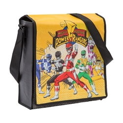 Picture of Power Rangers Recycled Messenger Tote