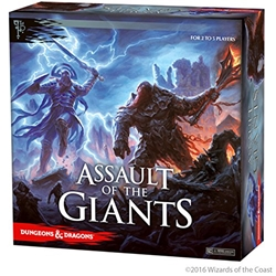 Picture of Dungeons and Dragons Assault of the Giants Board Game
