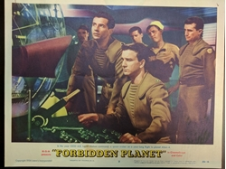 Picture of Forbidden Planet Lobby Card