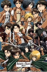 "Picture of Attack on Titan 36""x24"" Poster"