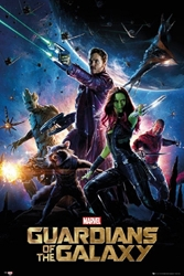 "Picture of Guardians of the Galaxy Movie 24""x36"" Poster"