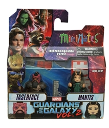Picture of Marvel Minimates Taserface and Mantis Guardians of the Galaxy Series 71 Figure Set