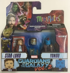 Picture of Marvel Minimates Star-Lord & Yondu Guardians of the Galaxy Series 71 Figure Set