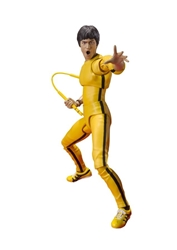 Picture of Bruce Lee Yellow Track Suit S.h.figuarts Action Figure