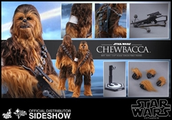 Picture of Star Wars Chewbacca The Force Awakens Hot Toys 1:6 Scale Figure