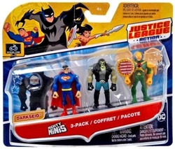 Picture of Justice League Action Mighty Minis Superman Lobo Hawkman 3-Pack
