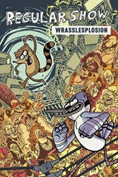 Picture of Regular Show Vol 04 SC Wrasslesposion