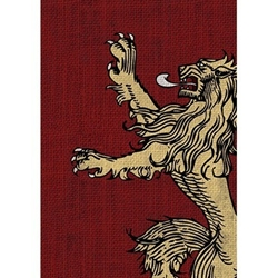 Picture of Game of Thrones House Lannister Card Sleeve 50-Count Pack