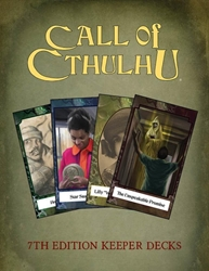 Picture of Call of Cthulhu: Keepers Decks (4)