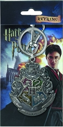 Picture of Harry Potter Hogwart's Crest Pewter Key Ring