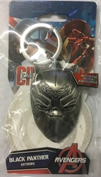 Picture of Black Panther Pewter Key Ring