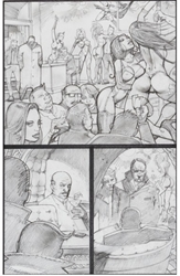 Picture of Simon Bisley - Tower Chronicles #1 pg. 15 Original Art