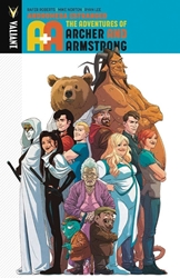 Picture of A&A Adventures of Archer and Armstrong TP VOL 03 Andromeda Estranged