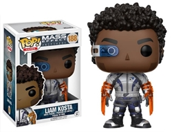 Picture of Pop Games Mass Effect Andromeda Liam Kosta Vinyl Figure