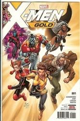 Picture of X-Men Gold #1 Original Print