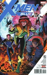 Picture of X-Men Blue #1 2nd Print