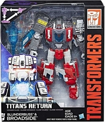 Picture of Transformers Generations Blunderbuss and Broadside Titans Return Figure