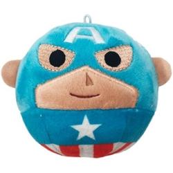 Picture of Captain America Hallmark Fluffballs Plush Ornament