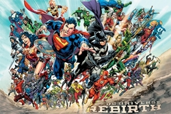 "Picture of DC Universe Rebirth 24"" x 36"" Poster"