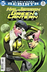 Picture of Hal Jordan and the Green Lantern Corps #25 Nowlan Cover
