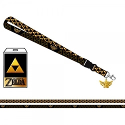 Picture of Nintendo Zelda Shield Lanyard with Sticker