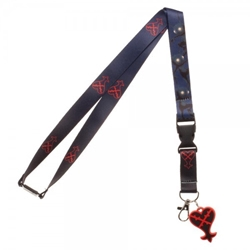 Picture of Kingdom Hearts Lanyard with Sticker