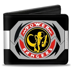 Picture of Power Rangers Black Ranger Mastadon Morpher Bi-Fold Wallet