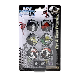 Picture of Marvel Heroclix Avengers/Defenders War Dice and Token Pack